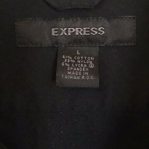 Express Shirts - Men's Express Short Sleeve Dress Shirt